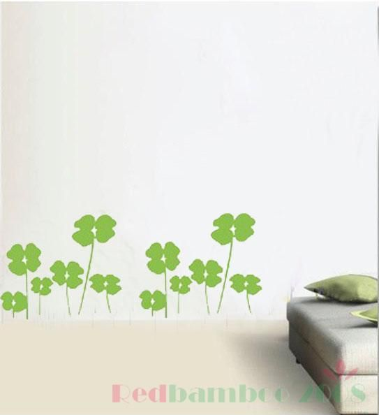 various colors) Happiness Leaf Decor Mural Art Wall Sticker Decal Y399