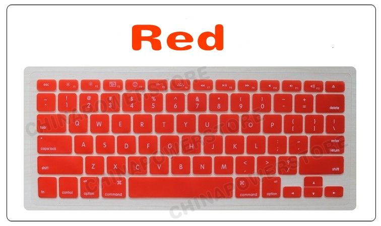 Silicone Keyboard cover skin for macbook PRO/Regular 13