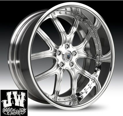24 INCH ASANTI AF150 WHEELS GMC CHEVY FORD CHARGER