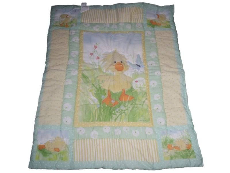 Baby Girl Bedding Nursery Little Suzys Suzys Zoo Crib Quilt Blanket